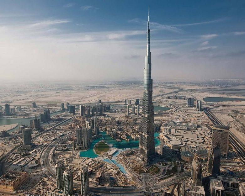 Высочайшее здание мира «Бурдж-Халифа», ОАЭ