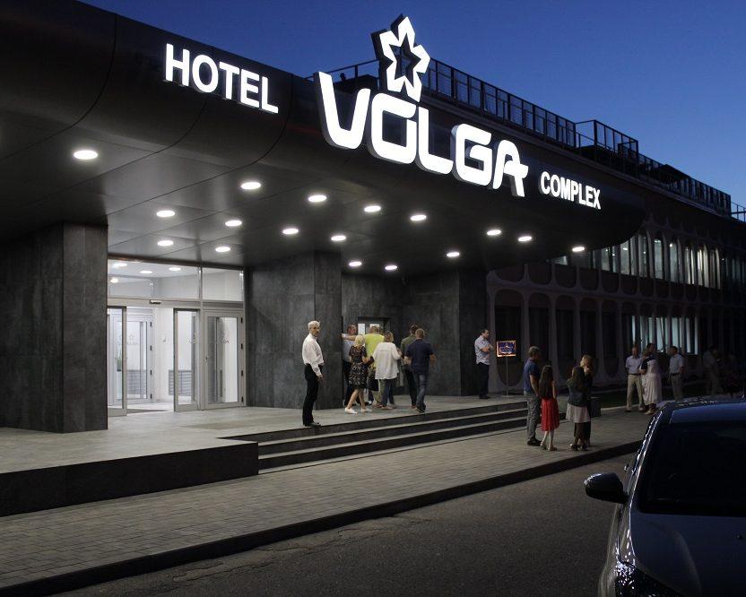 Терраса на крыше отеля «Волга», Кострома