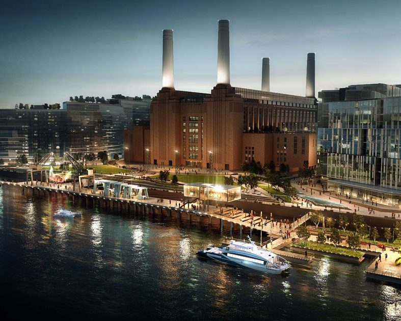 Электростанция Баттерси, Лондон