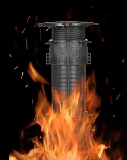 Всемирно известные регулируемые опоры Buzon — теперь и огнестойкие!