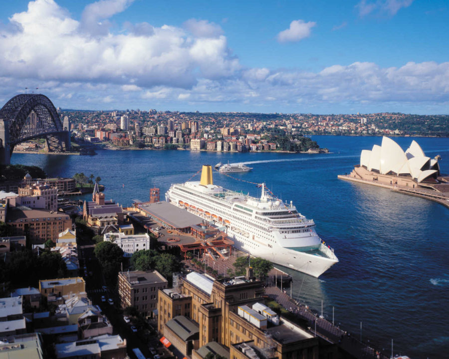 Круизный порт Сиднея, Австралия