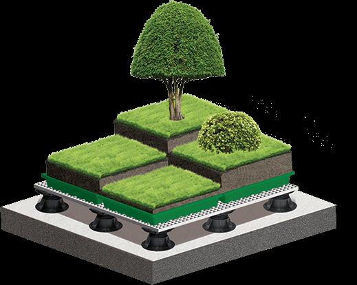 Образовательный проект: зеленая крыша школы в Москве