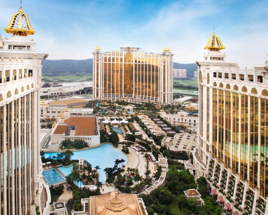 Регулируемые опоры для фонтана — проект Galaxy Macau