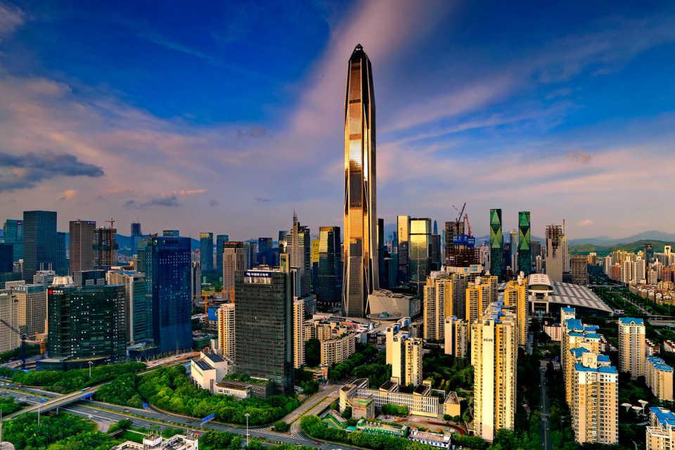 Опоры Buzon в строительстве Международного финансового центра Пинань (Шэньджэнь, Китай)