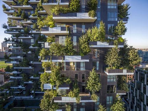 BoscoVerticale– вертикальные сады в Милане