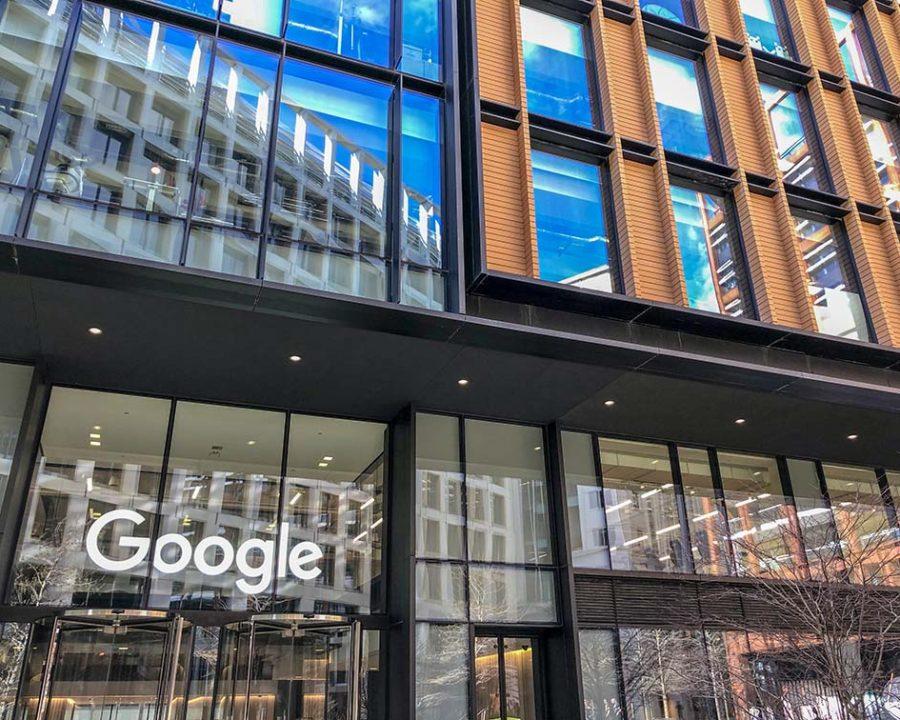 Регулируемые опоры — штаб-квартира Google, Лондон