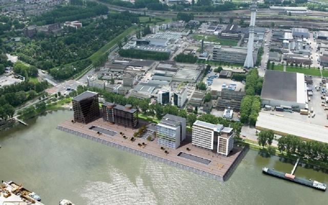 Порт-Сити Роттердам сделал ставку на несущие конструкции Buzon