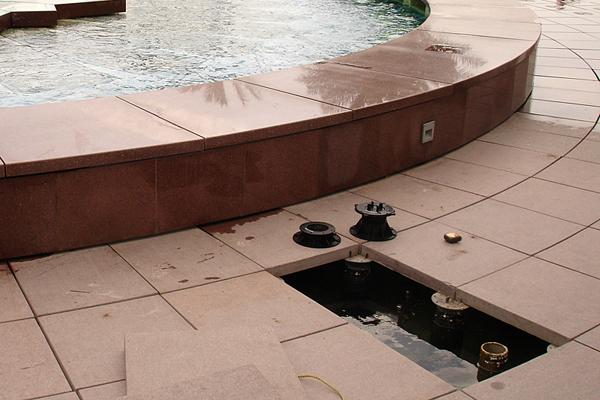 Террасы и фонтаны с Buzon
