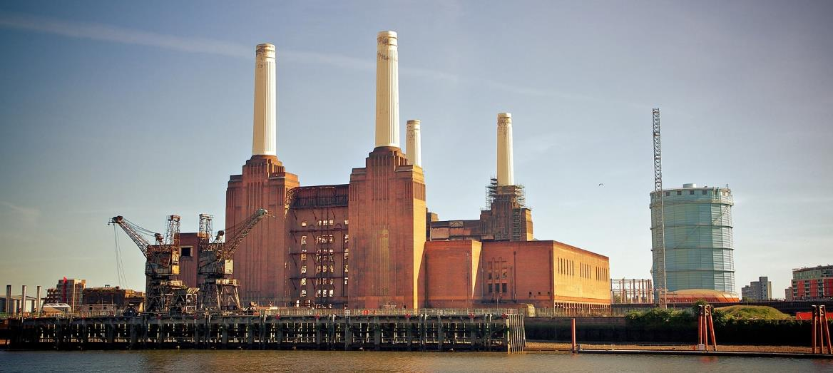 Реконструкция электростанции Battersea и регулируемые опоры Buzon