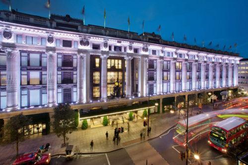 Регулируемые опоры Buzon и усовершенствование Selfridges London
