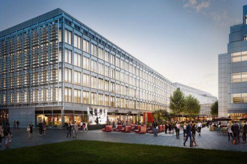 White City Place в Лондоне и регулируемые опоры Buzon