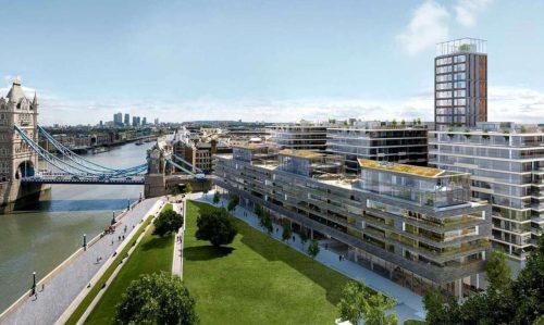 Регулируемые опоры DPH5 и BC5 от Бузон для One Tower Bridge